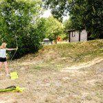 Tir à l'arc au village de gîtes L'Oliveraie - Gard