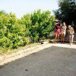 Pétanque au village de gîtes L'Oliveraie - Gard